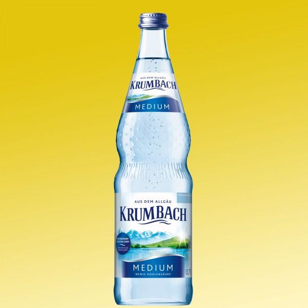 Krumbach Medium 12x0,7l blau Glas