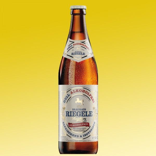 Riegele alkoholfreies Bier 20x0,5l