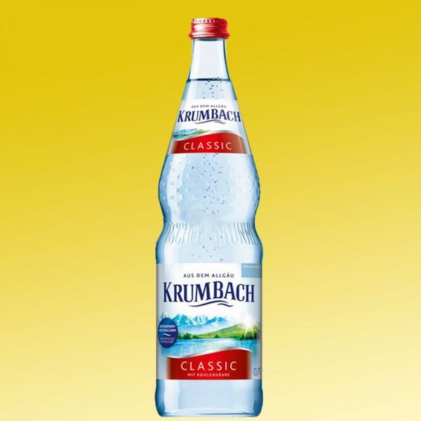 Krumbach Classic 12x0,7l rot Glas